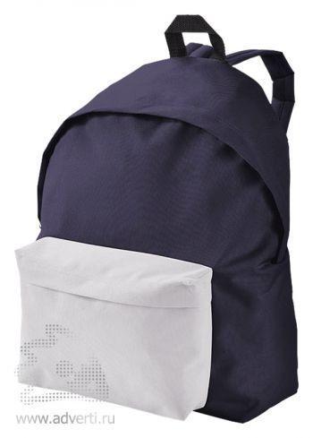 Рюкзак «Urban», двухцветный, темно-синий с белым