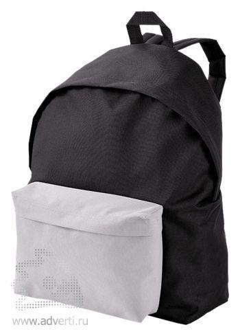 Рюкзак «Urban», двухцветный, черный с белым