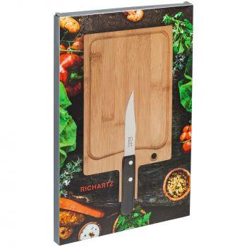 Разделочная доска и нож для стейка «Steak», коробка
