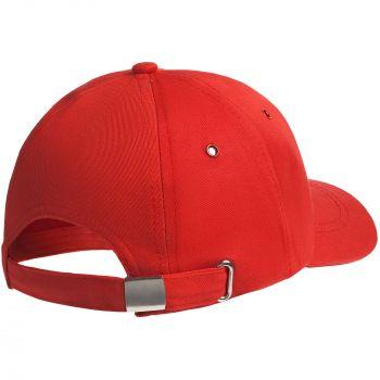 Бейсболка «Bizbolka Capture Kids», детская, красная, вид сзади