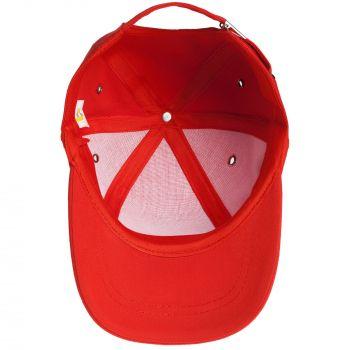 Бейсболка «Bizbolka Capture Kids», детская, красная, вид внутри