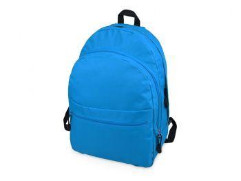 Рюкзак «Trend» с 2 отделениями на молнии и внешним карманом, ярко-синий
