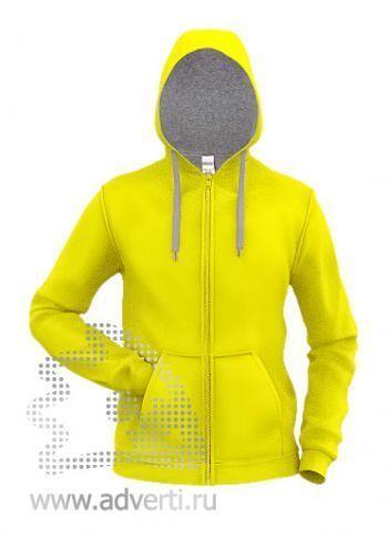 Толстовка «Stan Style», мужская, желтая с серым