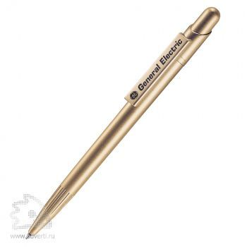 Шариковая ручка «Mir Sat 120S» Lecce Pen, золотистая