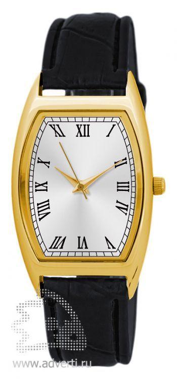 Часы наручные «Division», мужские, золотой корпус с серебристым циферблатом