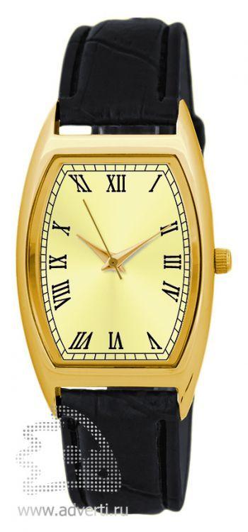Часы наручные «Division», мужские, золотой корпус с золотым циферблатом