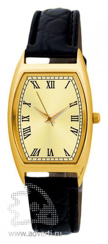 Часы наручные «Division», женские, золотой корпус и циферблат