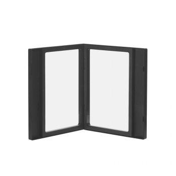 Набор «Камень» на 2 предмета, с покрытием soft grip, черный, кейс