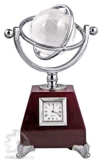 Часы с глобусом «Universe»
