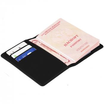 Обложка для паспорта Nebraska, черный