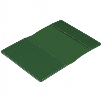 Обложка для паспорта Nebraska, зеленый