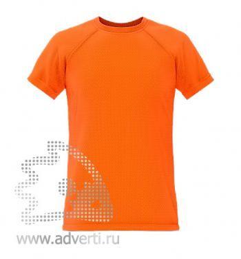 Футболка под сублимацию «Stan Print Kids», детская, оранжевая