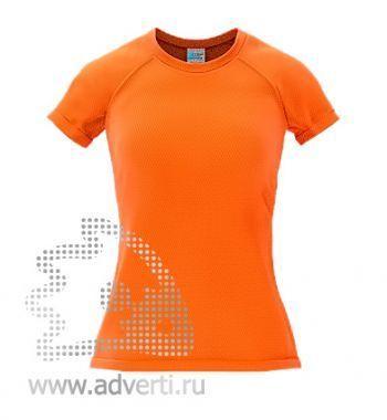 Футболка под сублимацию «Stan Print W», женская, оранжевая