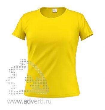 Футболка «Stan Galant W», женская, желтая