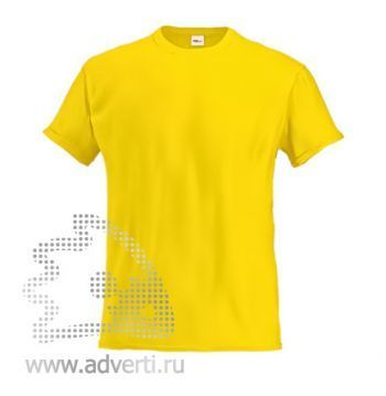 Футболка «Stan Lux», мужская, желтая