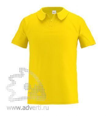 Рубашка поло «Stan Primier», мужская, желтая
