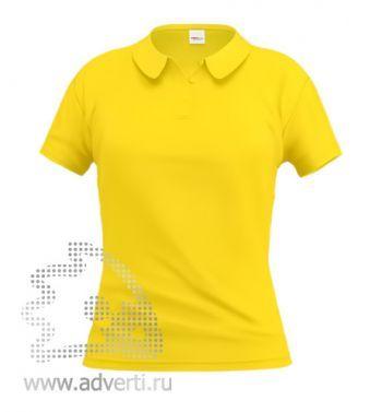 Рубашка поло «Stan Women», женская, желтая