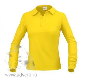 Рубашка поло «Stan Polo W», женская, желтая