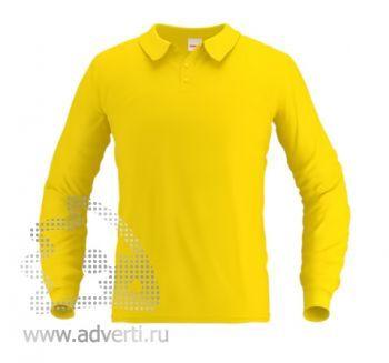 Рубашка поло «Stan Polo», мужская, желтая