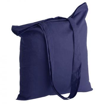 Холщовая сумка «Basic 105», синяя