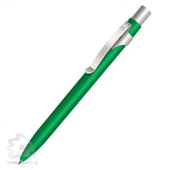 Шариковая ручка «Alpha» BeOne, зелено-серебристая