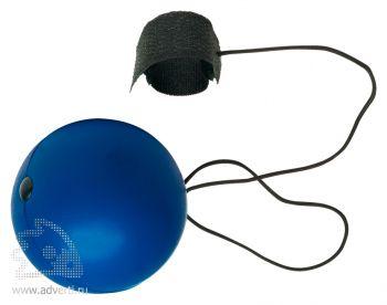 Антистресс «Мяч» на резинке, темно-синий