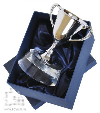 Стела «Кубок победителя» в подарочной упаковке, дизайн упаковки