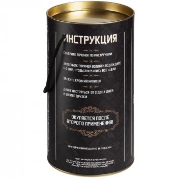 Бочонок-конструктор «Whiskey Barrel», упаковка, обратная сторона