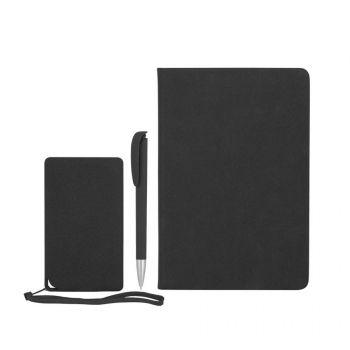 Подарочный набор «Рено», покрытие soft grip, черный