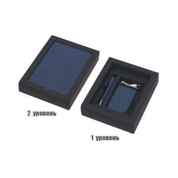 Подарочный набор «Рено», покрытие soft grip, синий, внутреннее наполнение