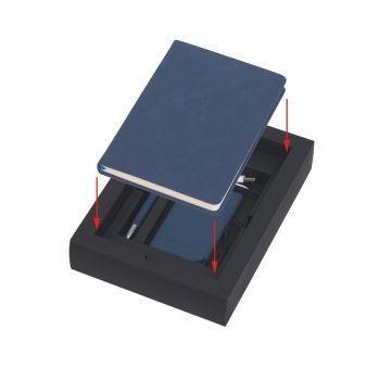 Подарочный набор «Рено», покрытие soft grip, синий