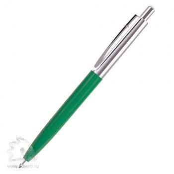 Шариковая ручка «Business» BeOne, зелено-серебристая