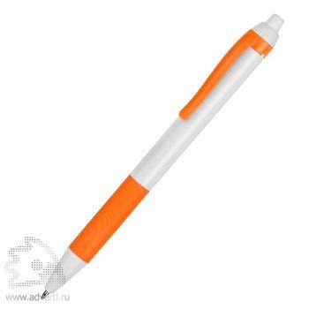 Ручка пластиковая шариковая «Centric», оранжевая