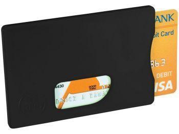 Защитный RFID чехол для кредитных карт, черный