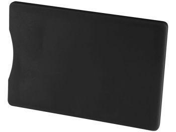 Защитный RFID чехол для кредитных карт, черный, с обратной стороны