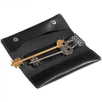 Ключница «Apache», черная, с ключами
