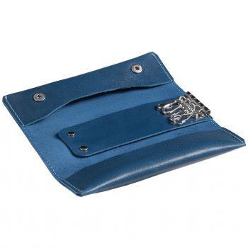 Ключница «Apache», синяя, открытая