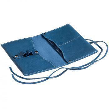 Органайзер для зарядных устройств «Apache», синий, открытый