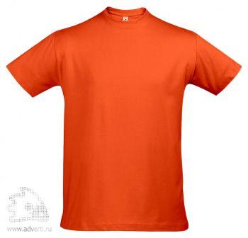 Футболка «Imperial 190», мужская, оранжевая