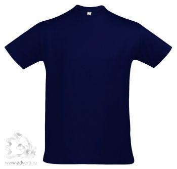 Футболка «Imperial 190», мужская, синяя