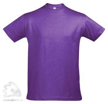 Футболка «Imperial 190», мужская, фиолетовая