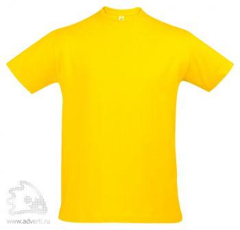 Футболка «Imperial 190», мужская, желтая