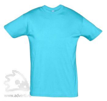 Футболка «Regent 150», мужская, голубая