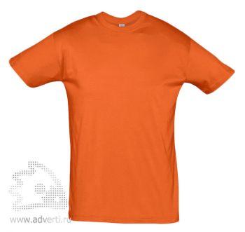 Футболка «Regent 150», мужская, оранжевая