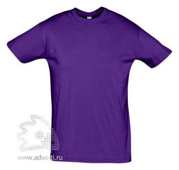 Футболка «Regent 150», мужская, темно-фиолетовая