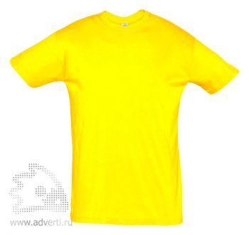 Футболка «Regent 150», мужская, желтая