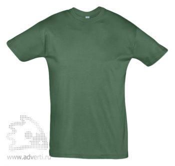 Футболка «Regent 150», мужская, темно-зеленая