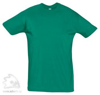 Футболка «Regent 150», мужская, зеленая