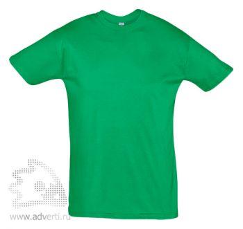 Футболка «Regent 150», мужская, светло-зеленая