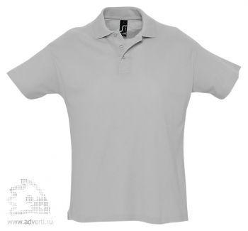 Рубашка поло «Summer 170», мужская, серая
